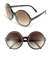 Tom Ford Carrie round sunglasses as seen on Rihanna