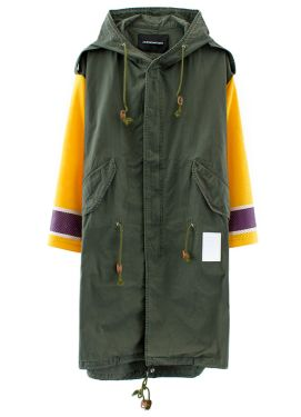 Phenomenon hockey sleeve M-51 parka shell coat as seen on Rihanna