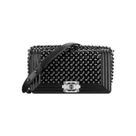 Chanel Cruise 2015 Boy braided flap handbag as seen on Rihanna