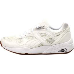 Puma Trinomic R698 NC sneakers in marshmallow as seen on Rihanna