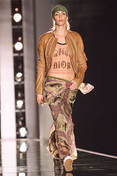 Christian Dior Spring 2002 - Look 19 as seen on Rihanna