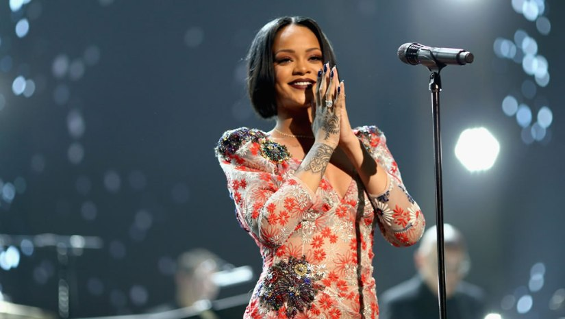 Rihanna at MusiCares Person of the Year gala 2016 honouring Lionel Richie