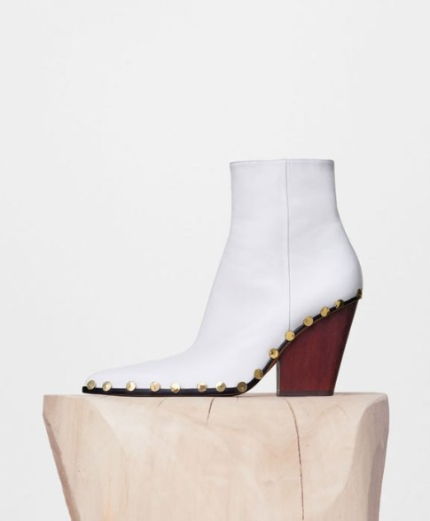 Céline Rodeo high studded ankle boots as seen on Rihanna