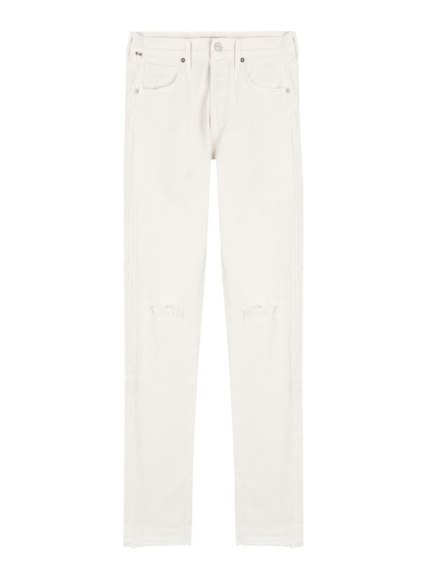 Citizens of Humanity Corey relaxed boyfriend jeans in distressed natural as seen on Rihanna