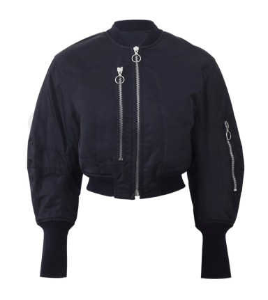 3.1 Phillip Lim cropped flight jacket as seen on Rihanna