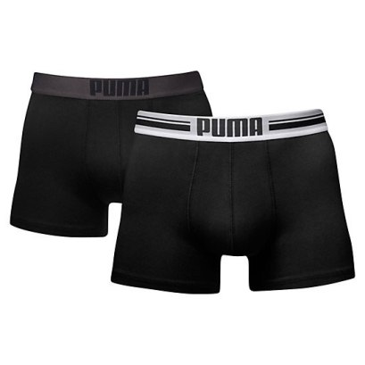 Puma placed logo boxer shorts as seen on Rihanna