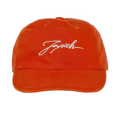 Joyrich signature 6 panel cap in orange as seen on Rihanna