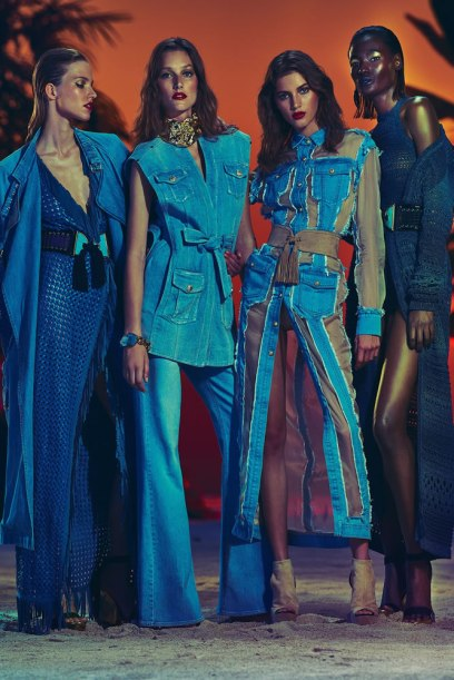 Balmain Resort 2017 Look 31 as seen on Rihanna