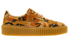 Puma by Rihanna Autumn Camo orange creeper