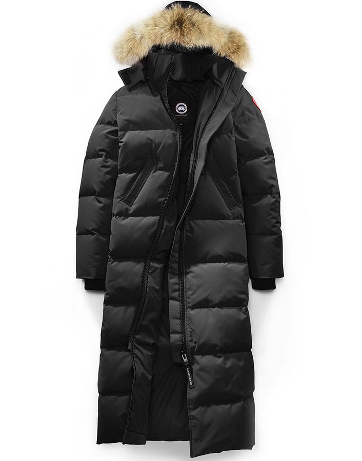 Canada Goose Mystique parka in black as seen on Rihanna