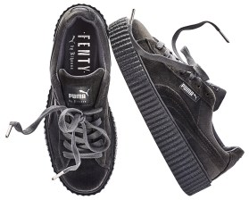 Fenty x Puma velvet Creeper in Glacier Grey