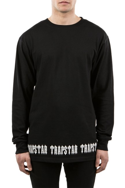 Trapstar long sleeve Irongate base tee as seen on Rihanna