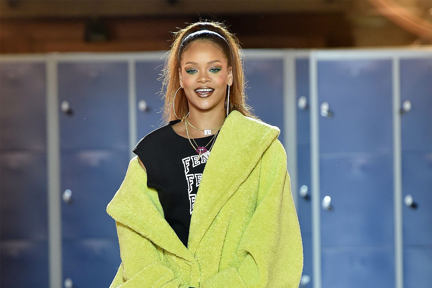 Google themes rihanna - Today Rihanna Took Over The National Library Of France In Paris For The Presentation Of The Fenty X Puma Fall Winter 2017 Collection