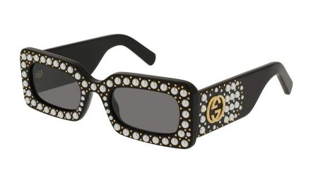 Gucci studded square sunglasses as seen on Rihanna
