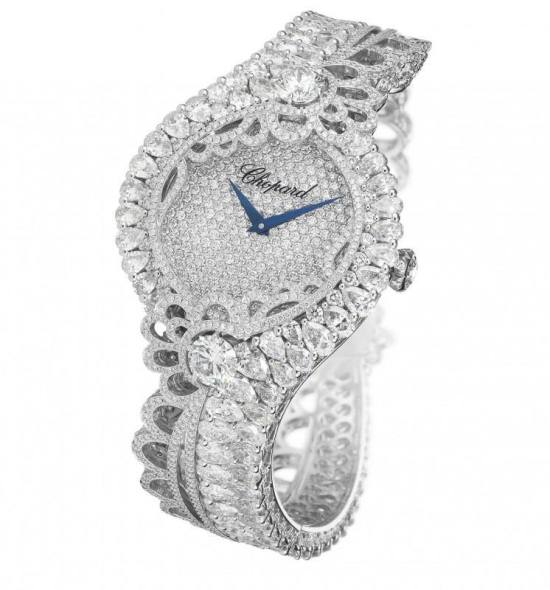 Rihanna Loves Chopard diamond watch