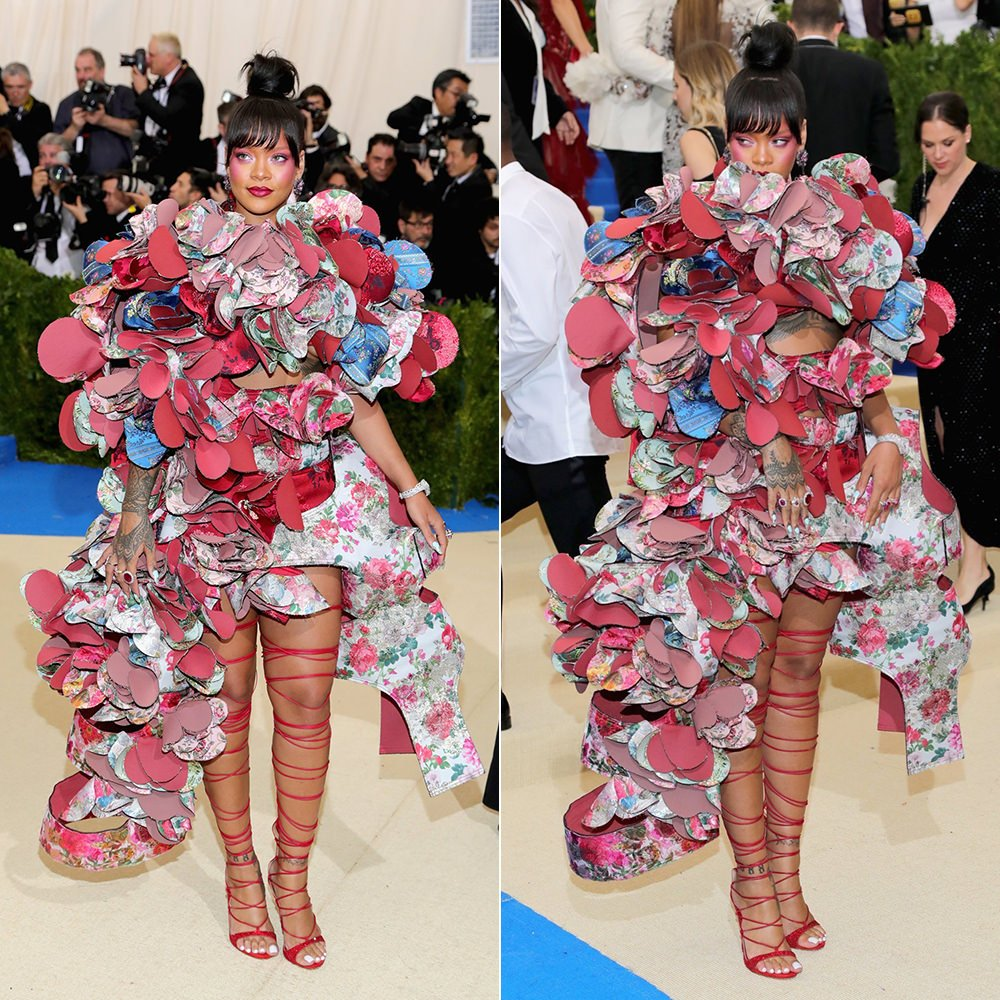 Rihanna Wins the 2017 Met Gala in Comme des Garçons - Haus of Rihanna. The  Metropolitan Museum of Art s annual Costume Institute Gala may not be a ... 4532f6501a59