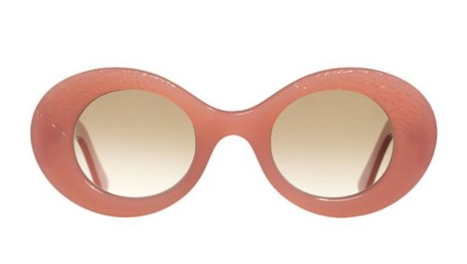 Cutler and Gross 1053 pearl pink sunglasses as seen on Rihanna