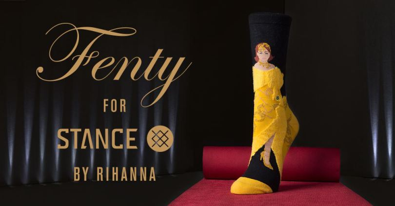 Rihanna Stance Iconic Looks sock collection Fall 2017