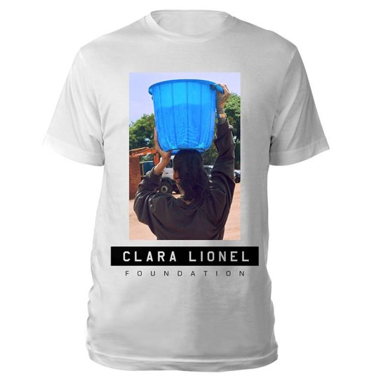 Clara Lionel Foundation white t-shirt