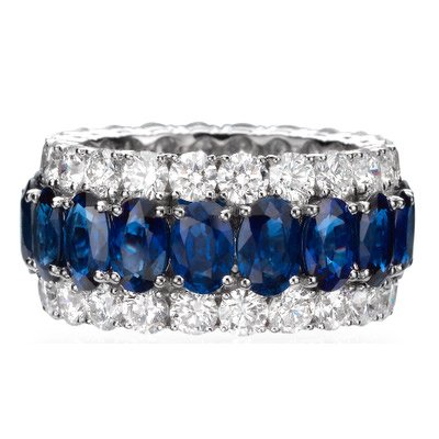 Butani blue sapphire and diamond ring as seen on Rihanna