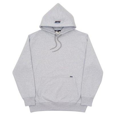 Palace Skateboards Basically a Hoodie grey as seen on Rihanna