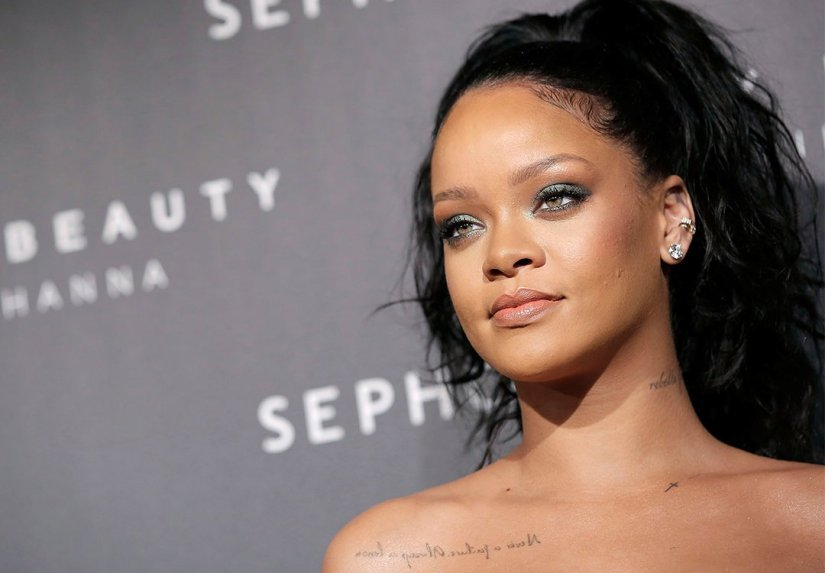 Rihanna Fenty Beauty makeup Paris launch