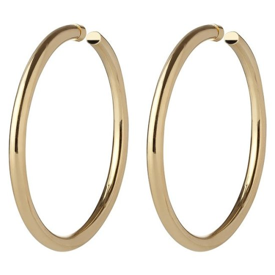 Jennifer Fisher 3 inch Samira hoop earrings as seen on Rihanna