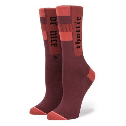Rihanna x Stance Thottie or Nice socks in wine