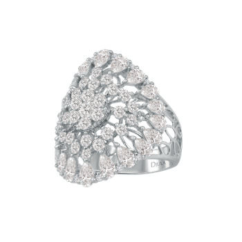 Djula diamond ring as seen on Rihanna