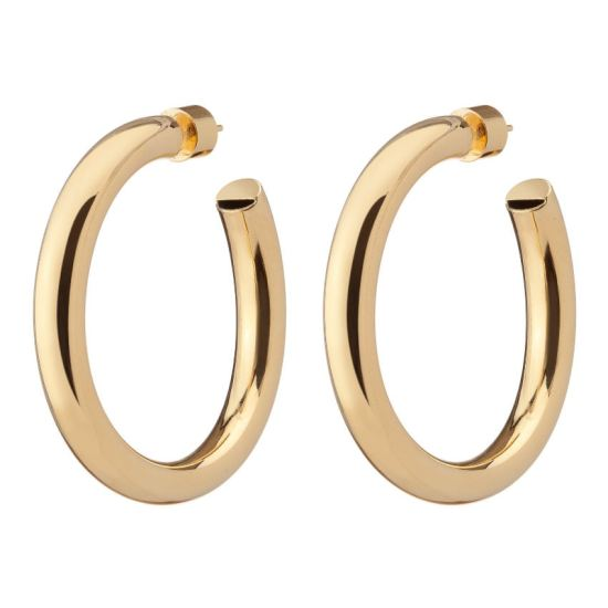 Jennifer Fisher baby samira hoop earrings as seen on Rihanna