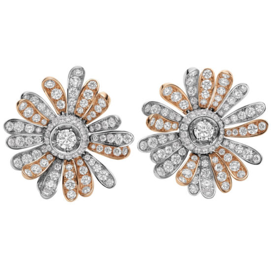 Bulgari Giardini Italiani diamond earrings as seen on Rihanna