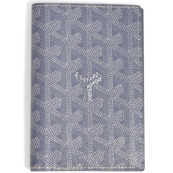 Goyard grey passport cover as seen on Rihanna