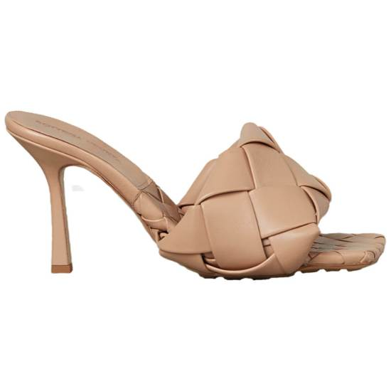 Bottega Veneta BV Lido mule sandal as seen on Rihanna
