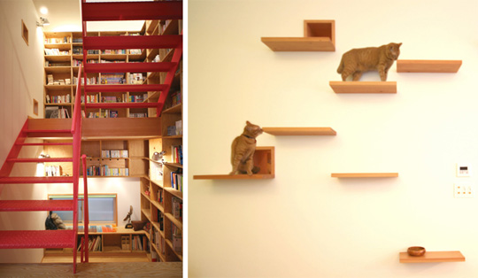 House Taishido Cat Friendly Tokyo Residence Designed By