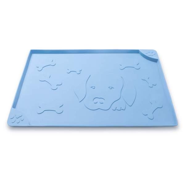 Freezack Napfunterlage Square Dog & Bone blau