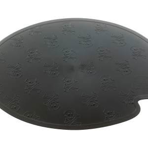 United Pets Napfunterlage Boss Mat bowl schwarz