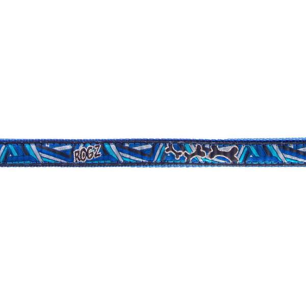 rogz Hundehalsband Fancy Dress Navy Zen XL (43-70cm) 25mm