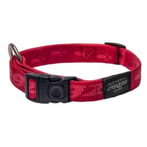 rogz Hundehalsband Alpinist rot L (34-56cm) 20mm|M (26-40cm) 16mm|S (20-31cm) 11mm|XL (43-70cm) 25mm|XXL (50-80cm) 40mm