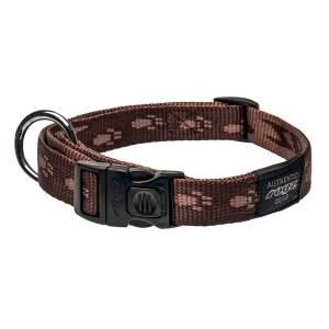 rogz Hundehalsband Alpinist braun L (34-56cm) 20mm|M (26-40cm) 16mm|S (20-31cm) 11mm|XL (43-70cm) 25mm|XXL (50-80cm) 40mm