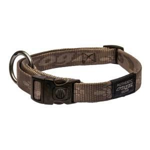 rogz Hundehalsband Alpinist gold L (34-56cm) 20mm|M (26-40cm) 16mm|S (20-31cm) 11mm|XL (43-70cm) 25mm|XXL (50-80cm) 40mm