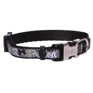 rogz Hundehalsband Trendy schwarz S (19-30cm