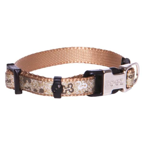 rogz Hundehalsband Trendy braun S (19-30cm