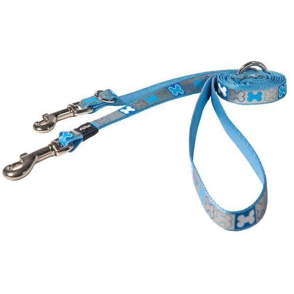 rogz Hundeleine Reflecto blau M (180cm) 16mm|S (180cm) 12mm|XS (180cm) 8mm