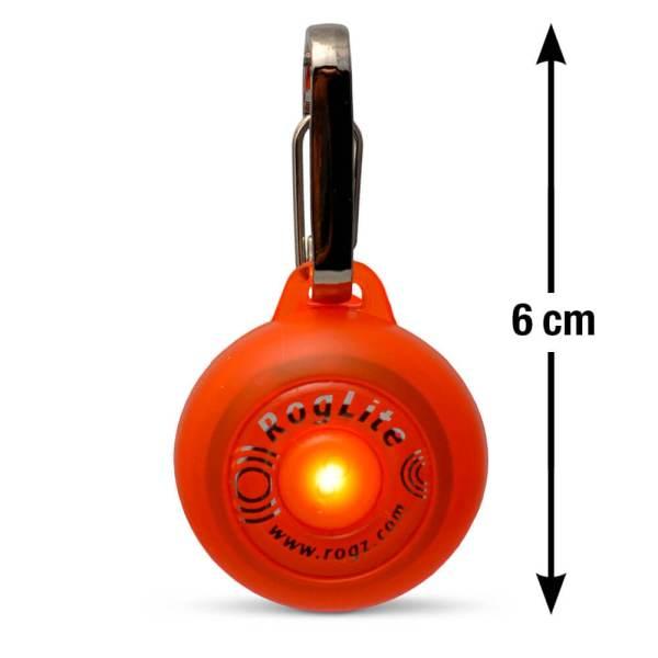 rogz Leuchtanhänger RogLite orange