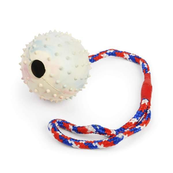Freezack Hundespielzeug Rubber Pimpel Ball M
