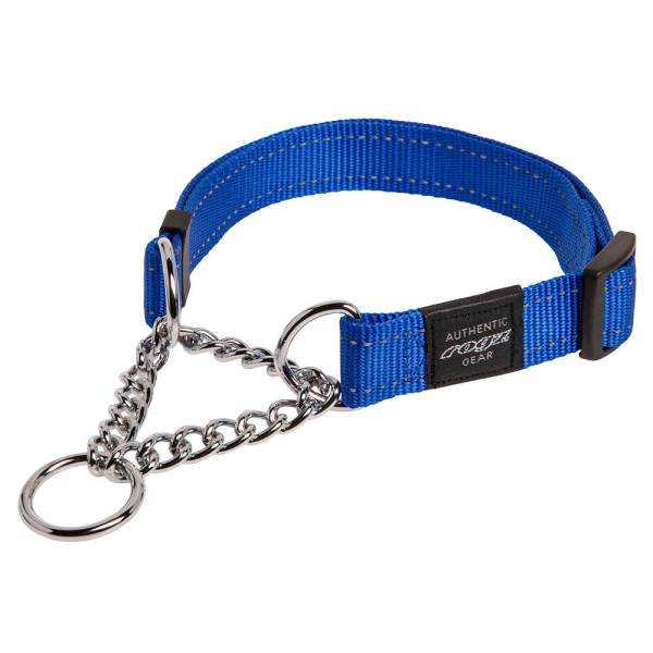 rogz Stop Hundehalsband Utility blau L (40-56cm)|M (32-44cm)|XL (50-70cm)