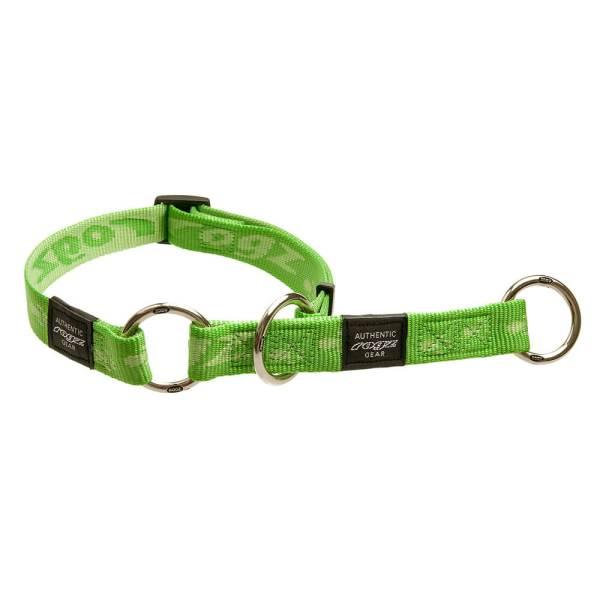rogz Stop Hundehalsband Alpinist grün L (34-56cm)|M (26-40cm)|XL (43-70cm)