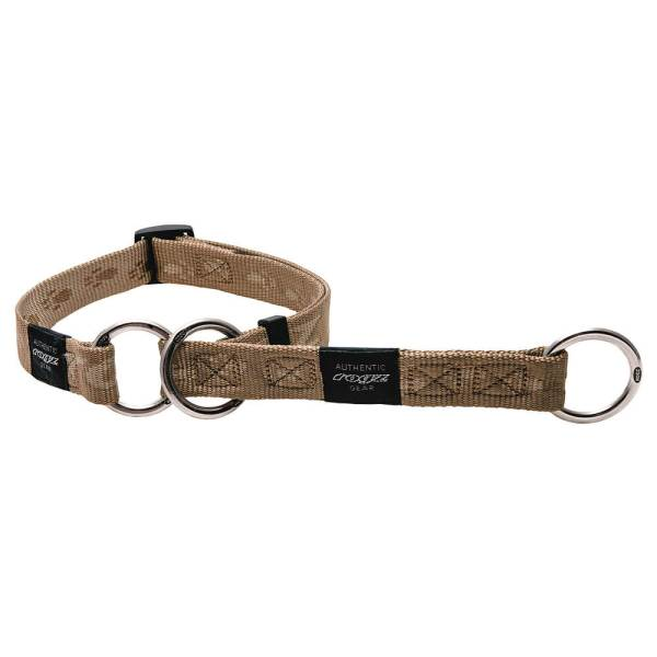 rogz Stop Hundehalsband Alpinist gold L (34-56cm)|M (26-40cm)|XL (43-70cm)