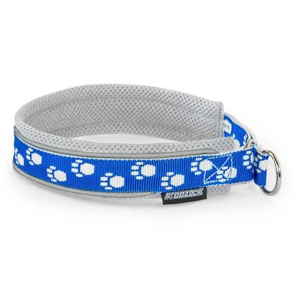 Freezack Stop Halsband Nordic Fashion weiss/blau L (50/55cm) 25mm|M (45/50cm) 25mm|S (35/40cm) 20mm|XL (55/60) 25mm