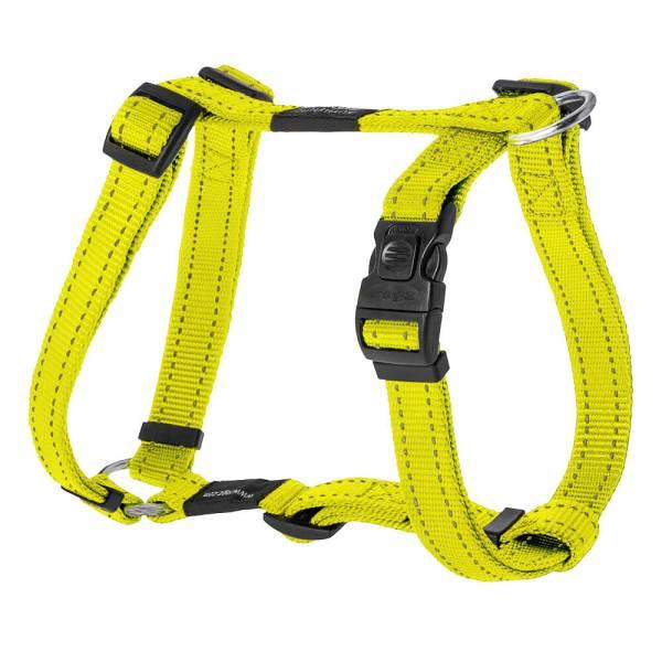 rogz Hundegeschirr Alpinist gelb L (45-75cm) 20mm|M (32-52cm) 16mm|S (23-37cm) 11mm|XL (60-100cm) 25mm